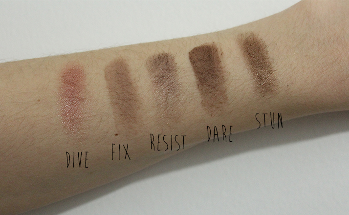 NAKED ON THE RUN SWATCH