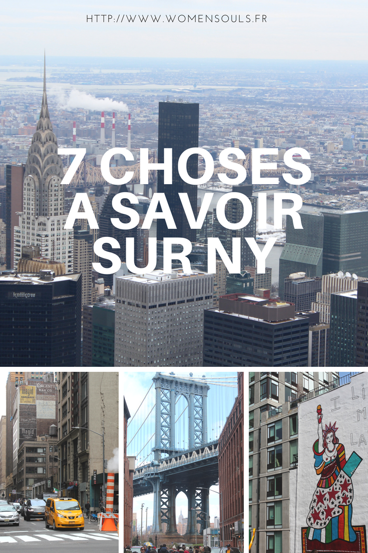 choses à savoir sur new york